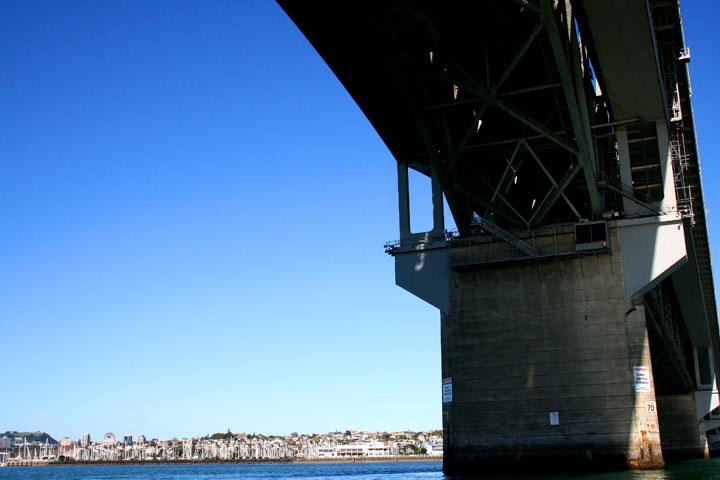 Under-the-harbour-bridge