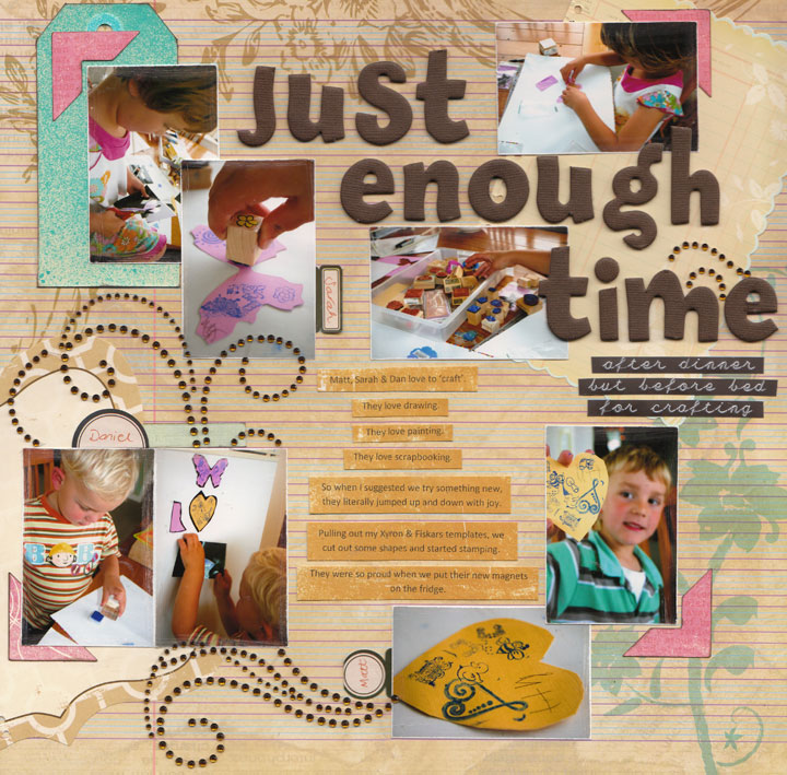 Just-enough-time