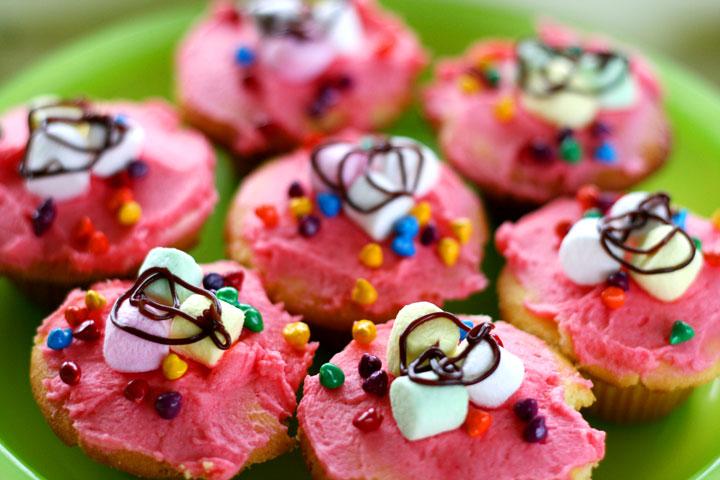 Pink-cupcakes
