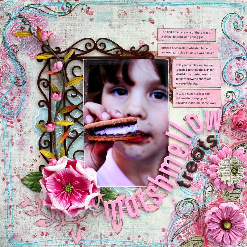 Issue 3 Marshmellow treats