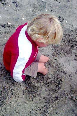 Dan-in-sand