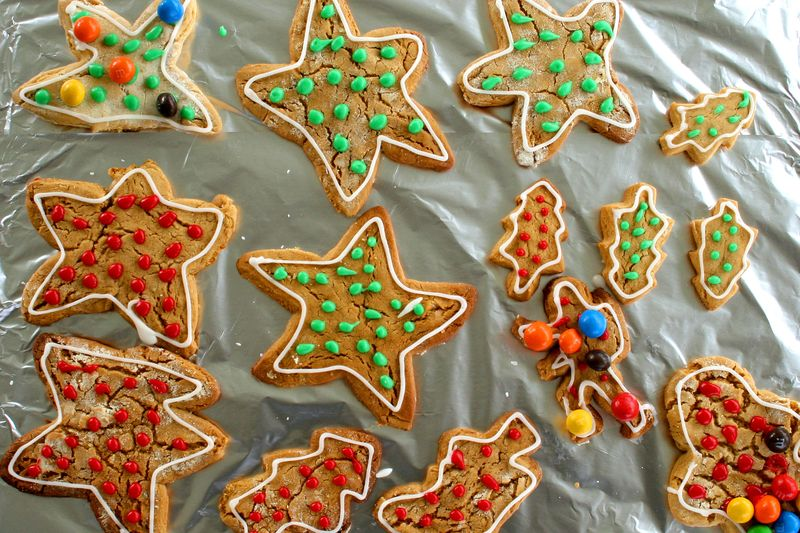 Biscuits decorated