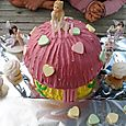 Birthday cake fairy mushroom house 72dpi