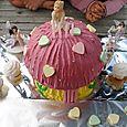 Birthday cake fairy mushroom house 72dpi