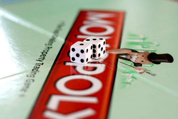 Monopoly-dice