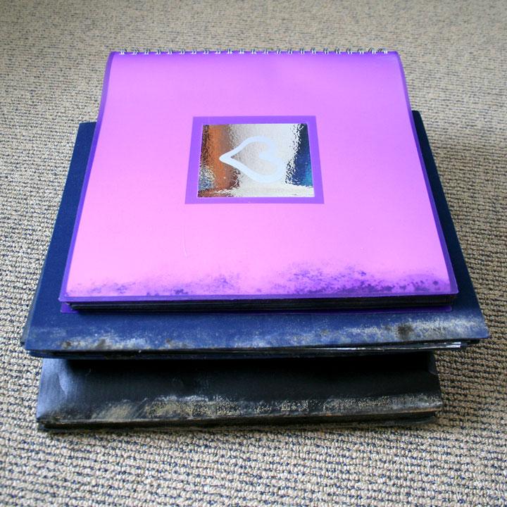 Mouldy-photo-albums