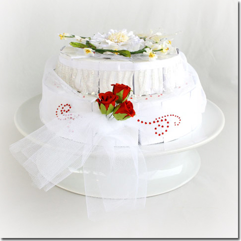 P wedding cake