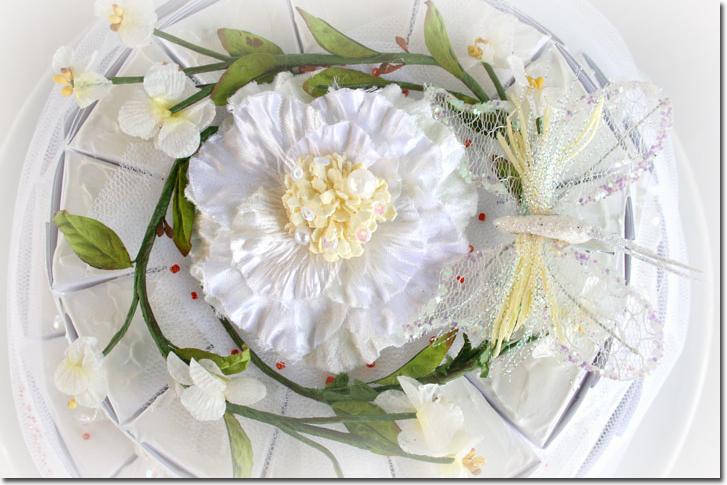 P wedding cake top