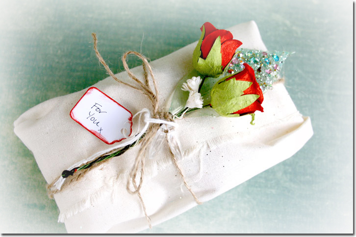 P stationary gift wrap