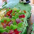 5th party Matts crocodile cake close up 72dpi