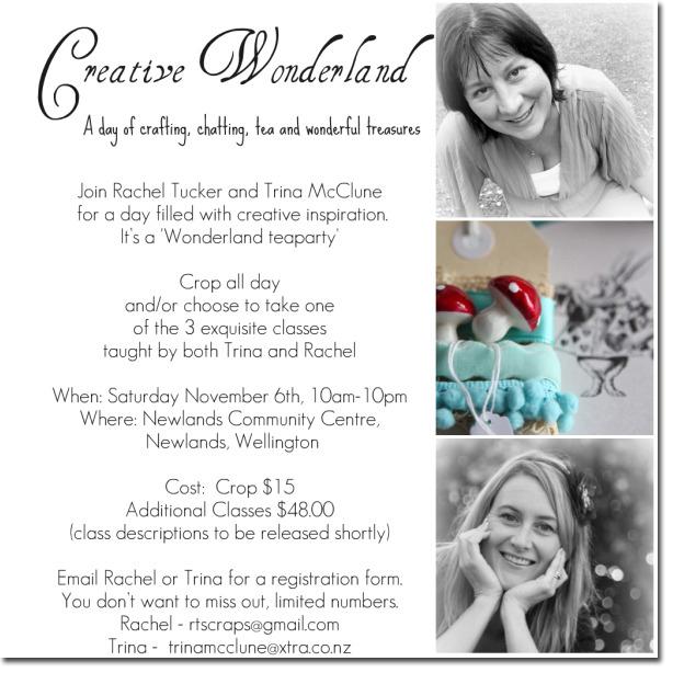Creative wonderland flyer ds