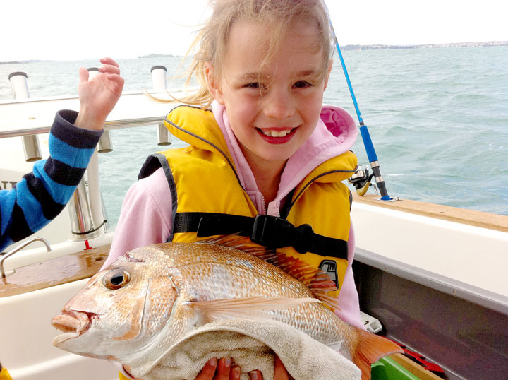 Sarah-and-her-fish