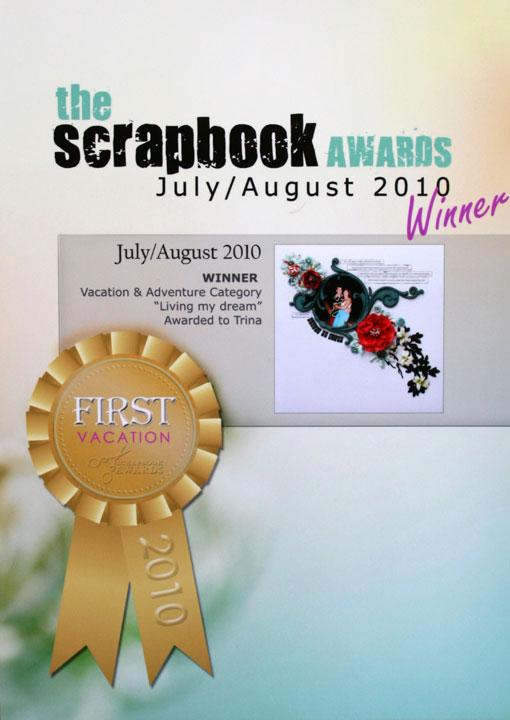 Scrapbook-awards-certificat