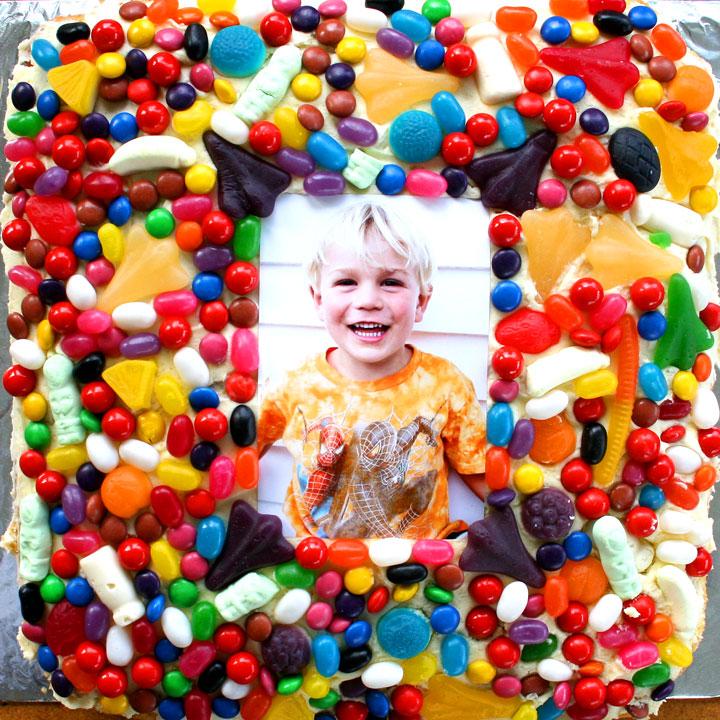 Melrose-cake