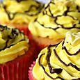 Fair-yellow-cupcakes