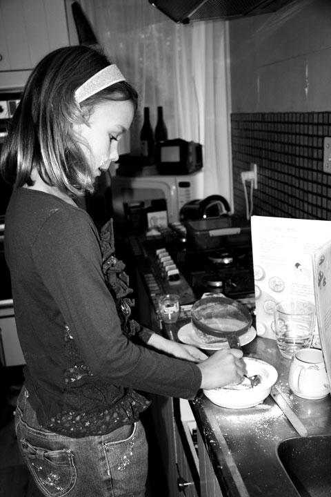 Sarah-baking