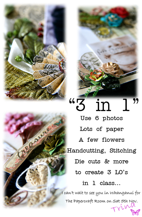 Papercraft room flyer