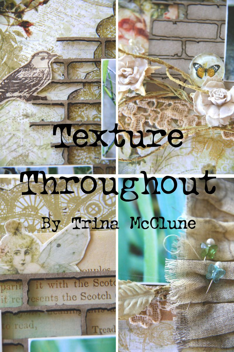 Texture-throughout