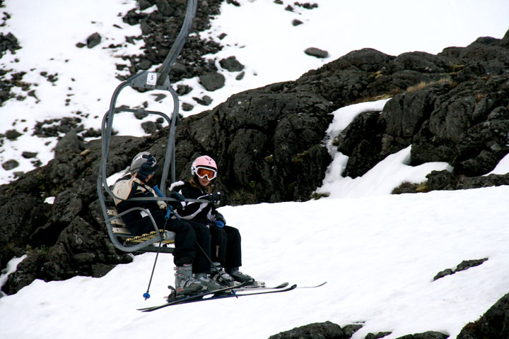 Sarah-on-chairlift