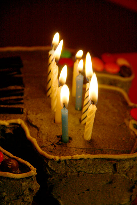 Cake-candles