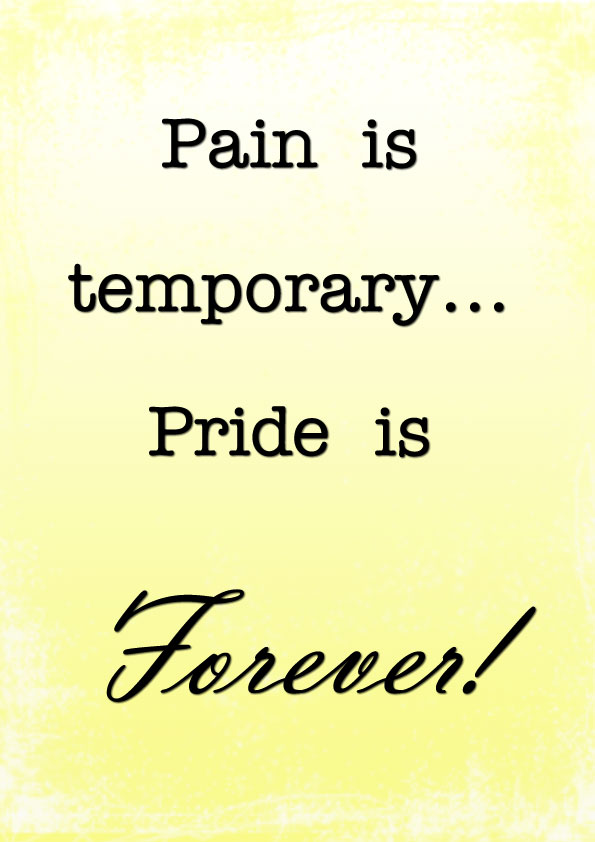 Pain-is-temporary