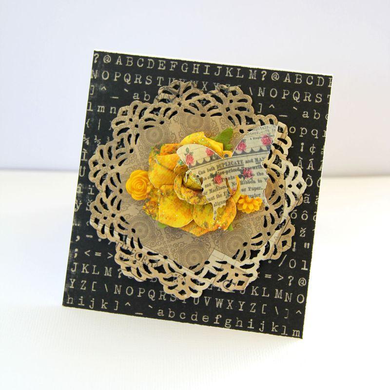 Card-butterfly