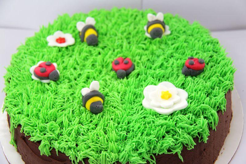 Grass-cake