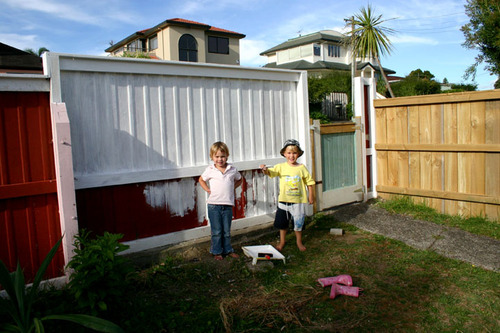 Matt_and_sarah_painting_our_fence_2