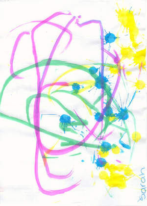Sarahs_first_piece_of_art_from_daycare_7