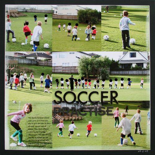 Soccer-practise