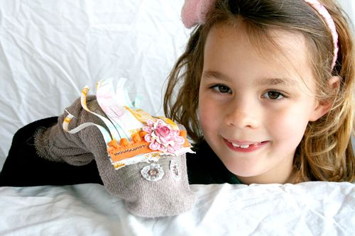Prima-sock-puppet-&-Sarah