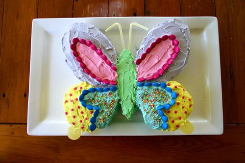 5th party sarahs butterfly cake 72dpi