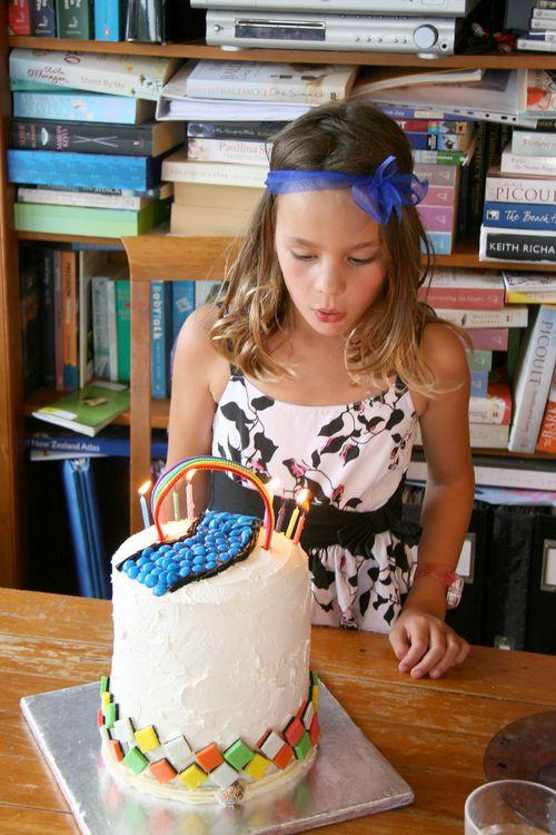 Cake and sarah